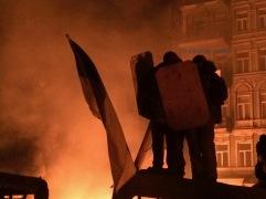 Mykhalia Hrushevskovo Street, Kiev / January 2014