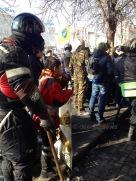 Mykhalia Hrushevskovo Street, Kiev / February 2014