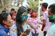 Holi-Festival in Kathmandu, Nepal / March 1st 2018
